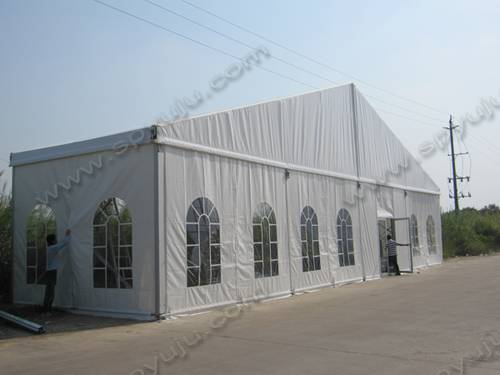 wedding marquee tent for 300 to 500 seats