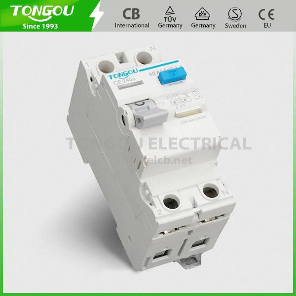 TORH2-63 series Residual Current Circuit Breaker