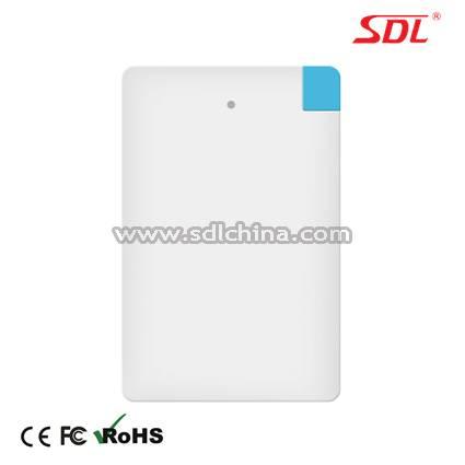 2500mAh Mobile Power Bank Power Supply External Battery Pack USB Charger E108