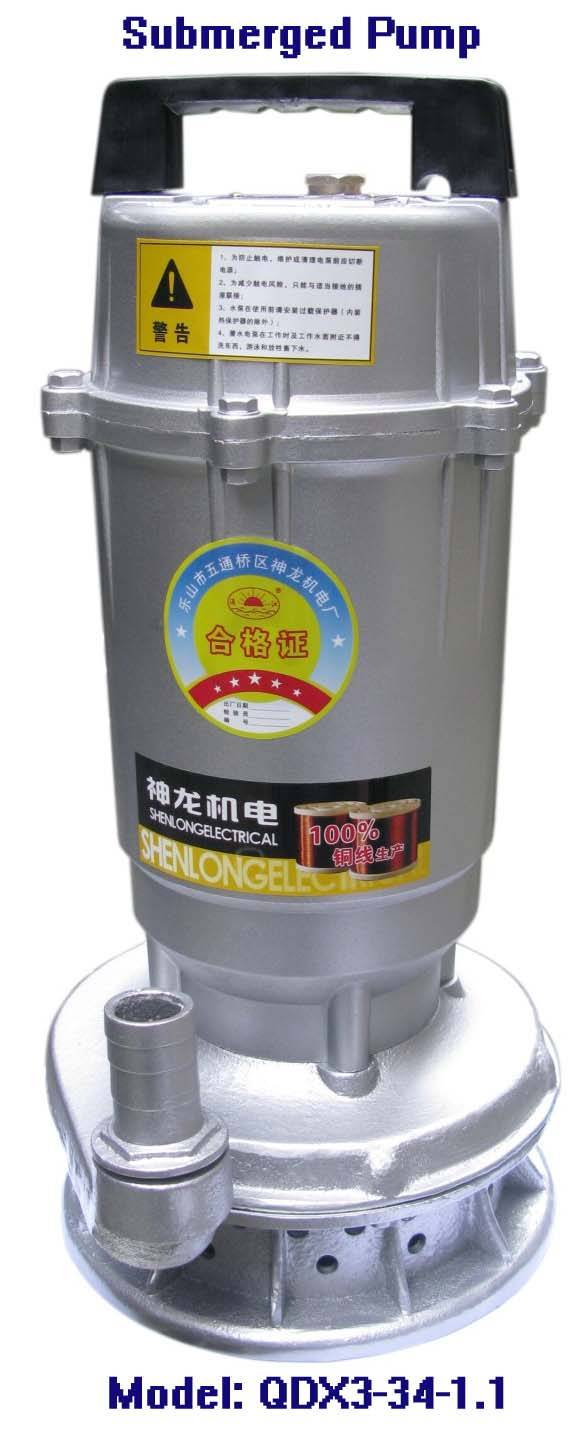 Electric Submerged Pump-QDC3-34-1.1