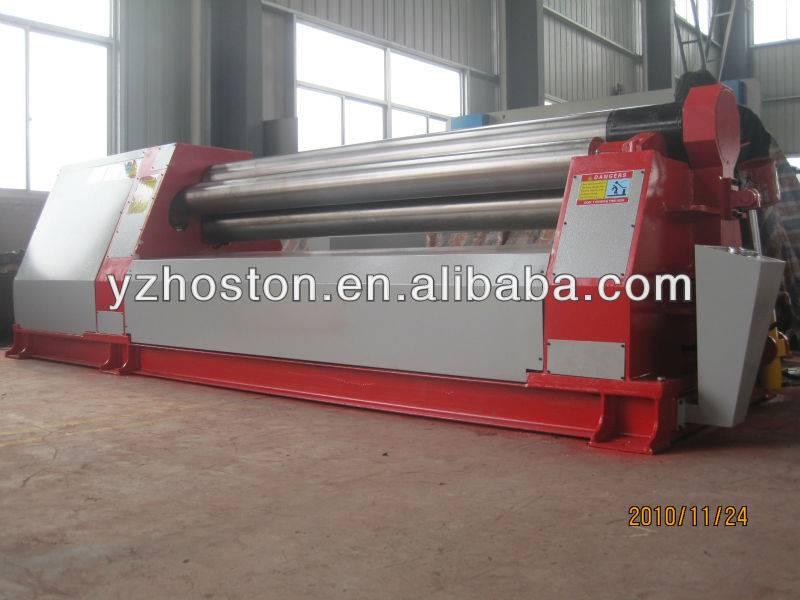 Hoston W12 hydraulic metal plate rolling machine