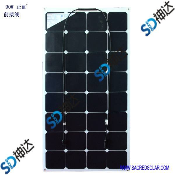 90W solar module for boat or car use
