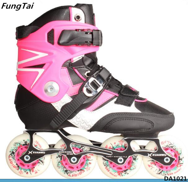 Semi Soft Roller Inline Skate Shoes Both Men And Women (DA1021)