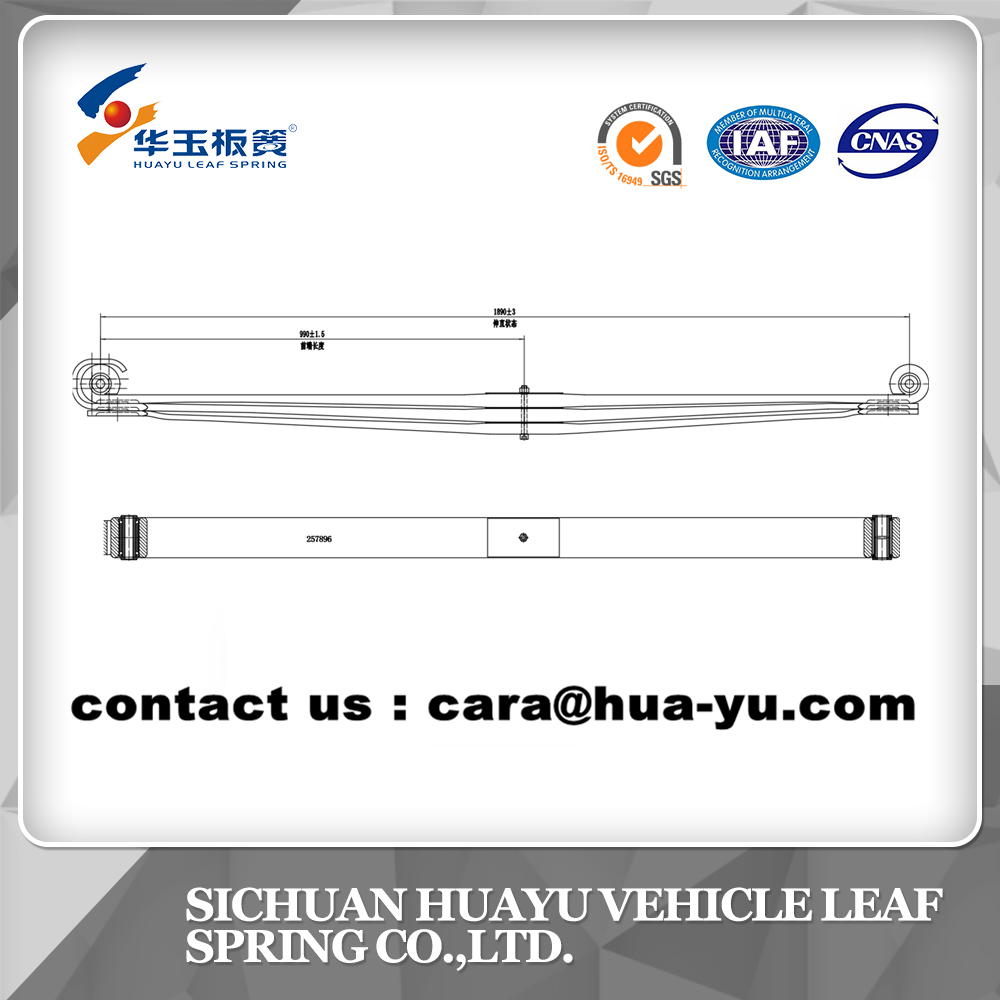leaf spring compatible with VOLVO 257896