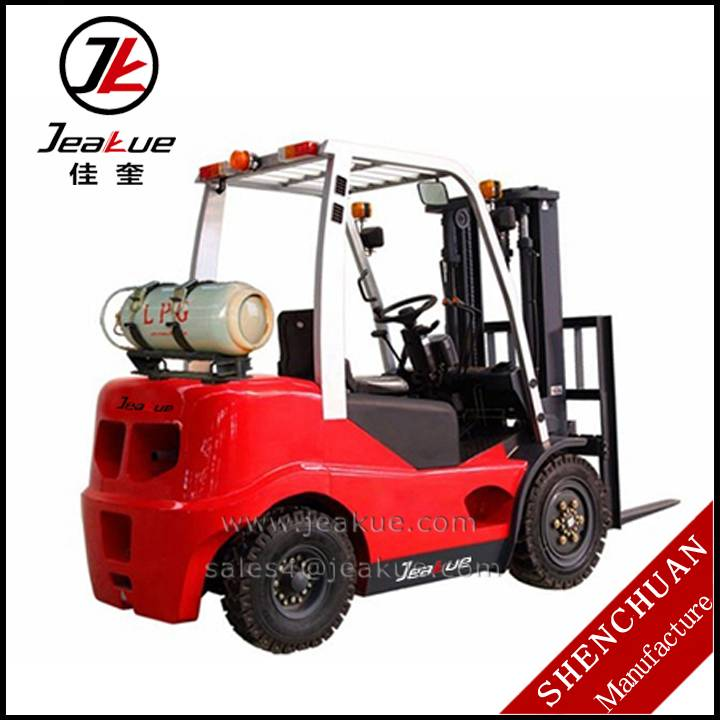 2014 Hot Sale Gasoline Engine 3.0T Counterbalanced Liquefied Petroleum Gas Forklift