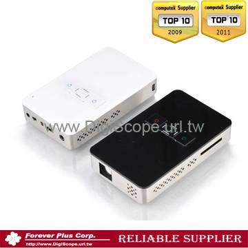 SVGA mini pocket high resolution projector,support 1280X768 PC