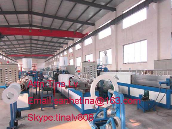 epe foam sheet extrusion making line
