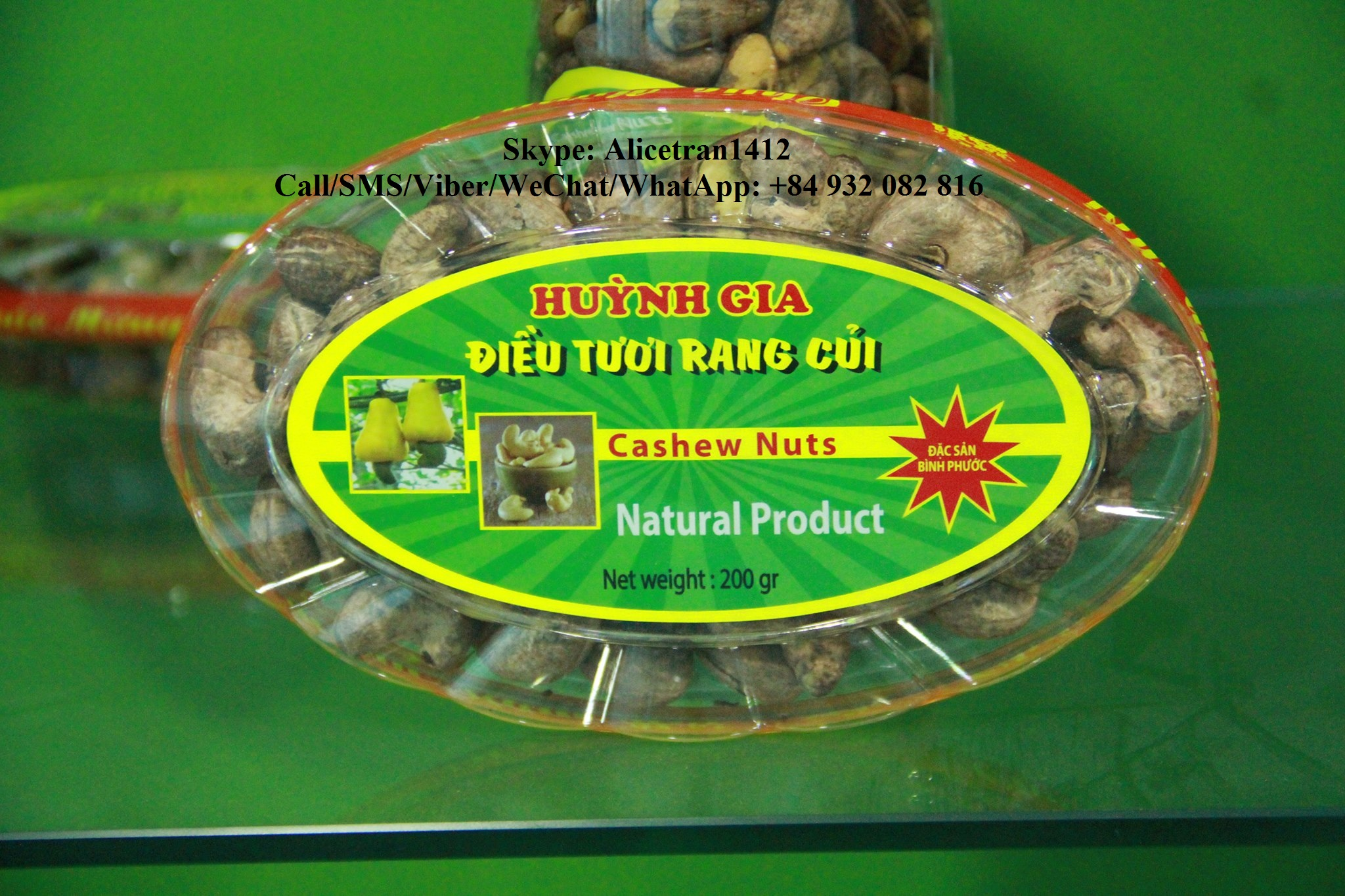 50G Salted Cashew Nuts