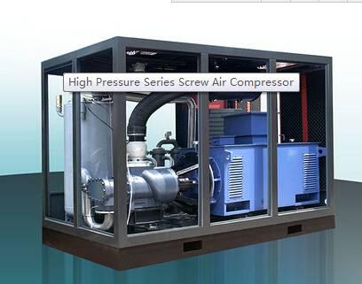 supply Screw Air Compressor of (EXV-132A/W)
