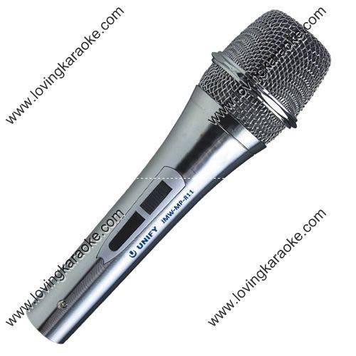 Unify JMW-MP811 Professional Dynamic Wired Karaoke Microphone