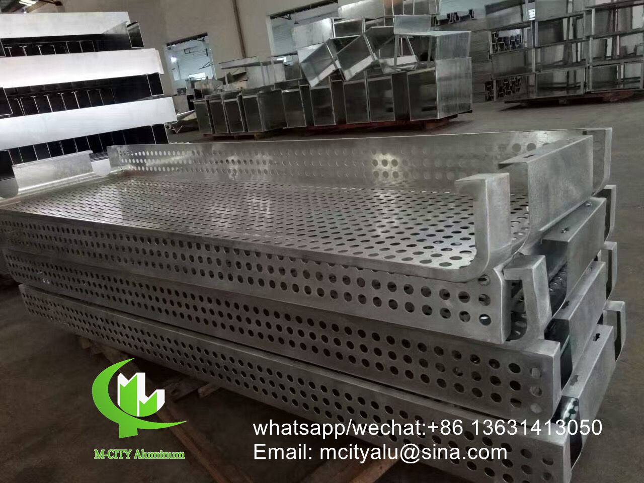 Guangdong custom made aluminum perforation panel