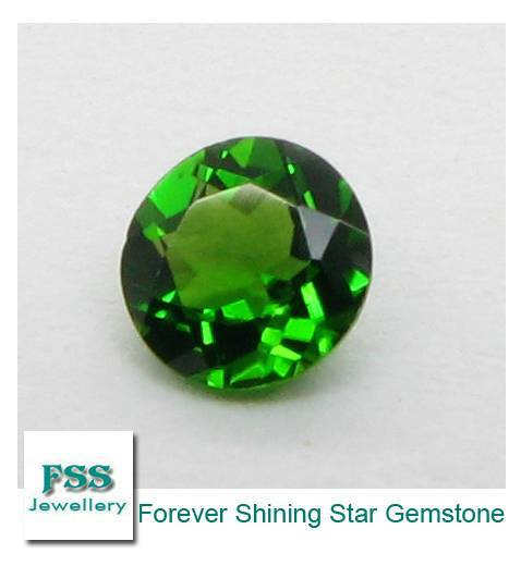 Chrome Diopside AAA Round Cut Calibrated Gemstones 1.5mm1.5mm
