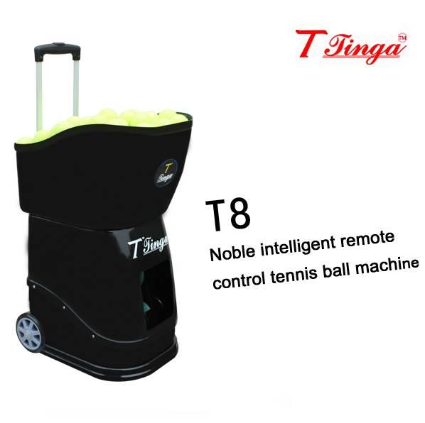 Noble intelligent remote control tennis ball machine