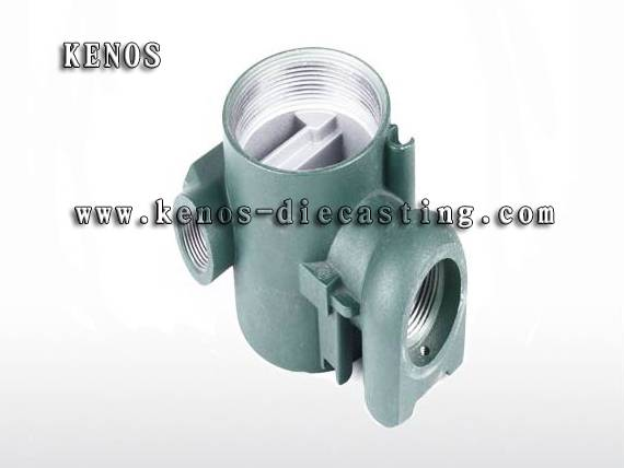 Pump housing die casting mold making