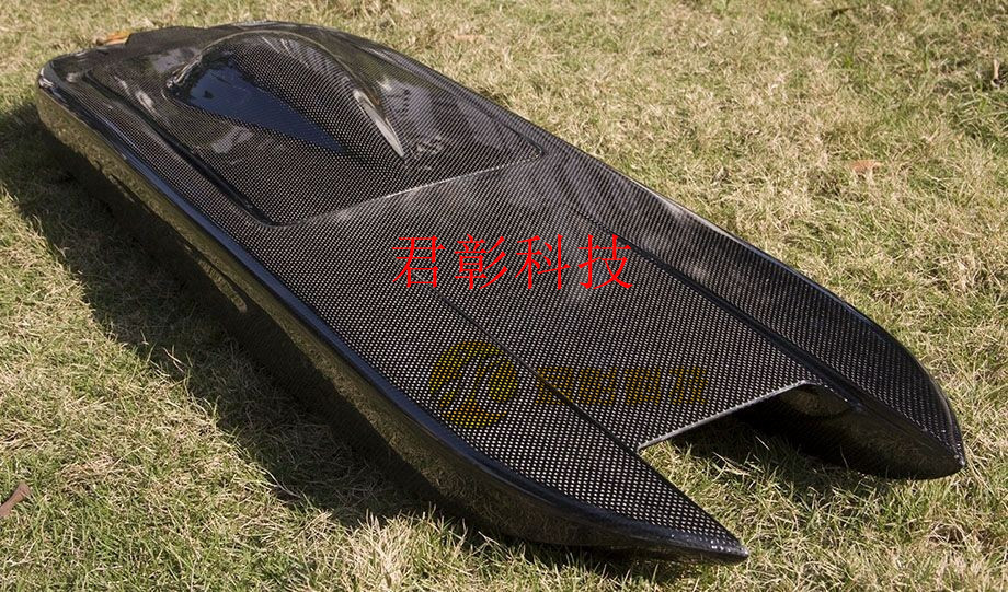 Cutomized Carbon Fiber Boat Model