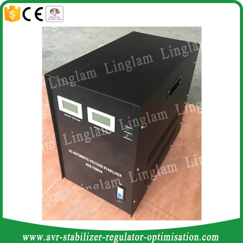 7.5kva ac svc automatic voltage regulator tnd
