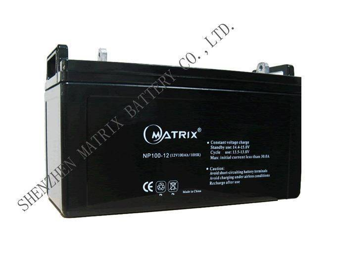 12V100Ah batteries