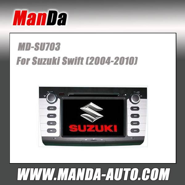 car dvd for Suzuki Swift (2004-2010) dvd gps navigation in-dash head units multimedia system car ste