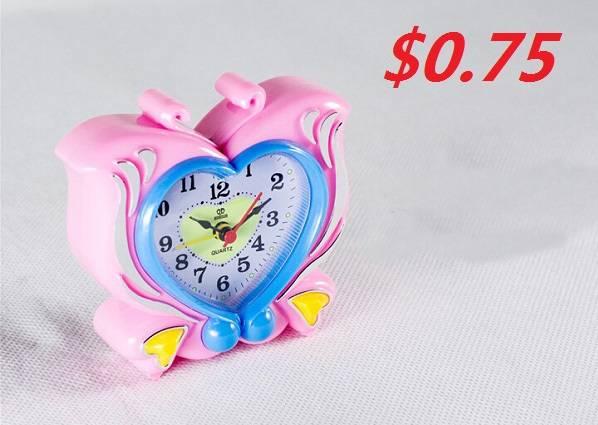 Butterfly Pattern Novelty Alarm Clock