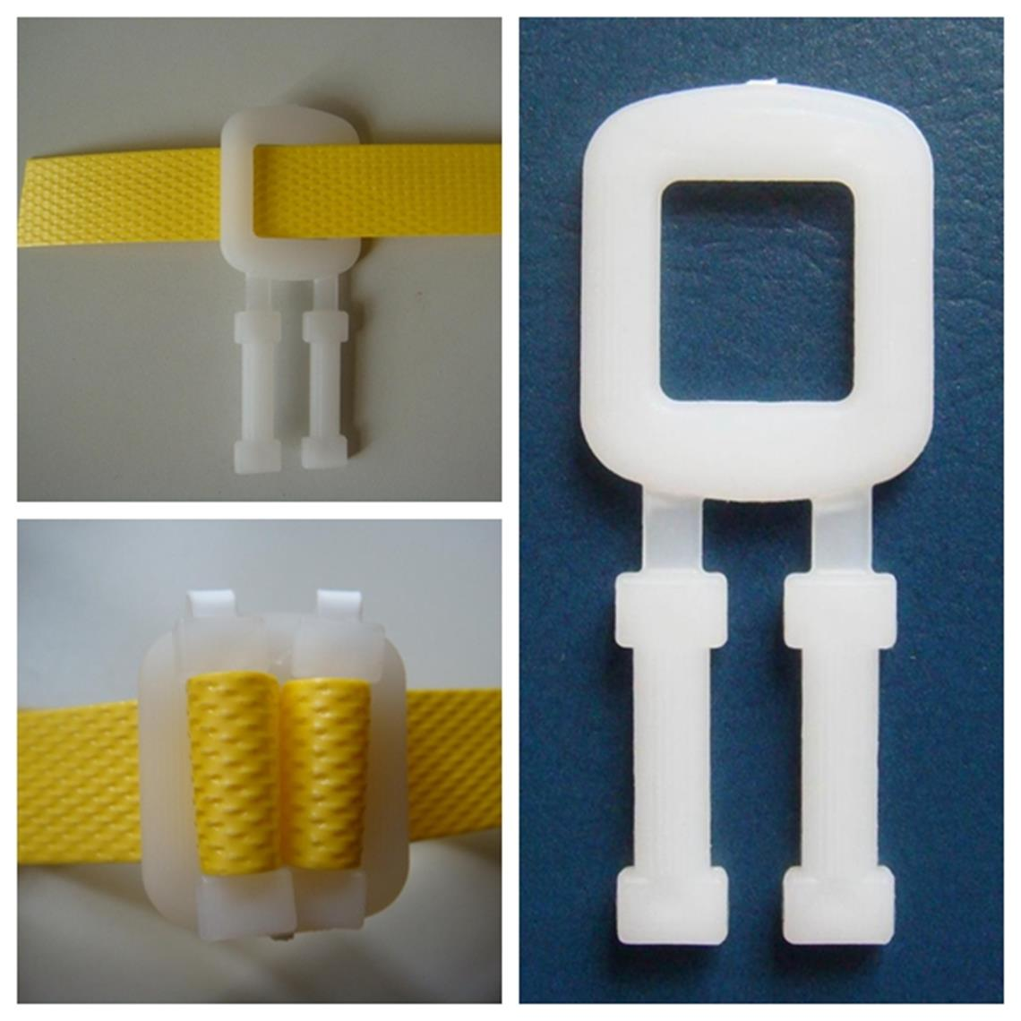 Poly packing buckle plastic strap buckles