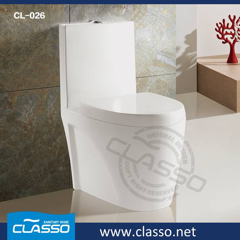 Hot Sale Hotel Building Material washdown toilet 4-inch one piece closet TURKISH BRAND CLASSO CL-026