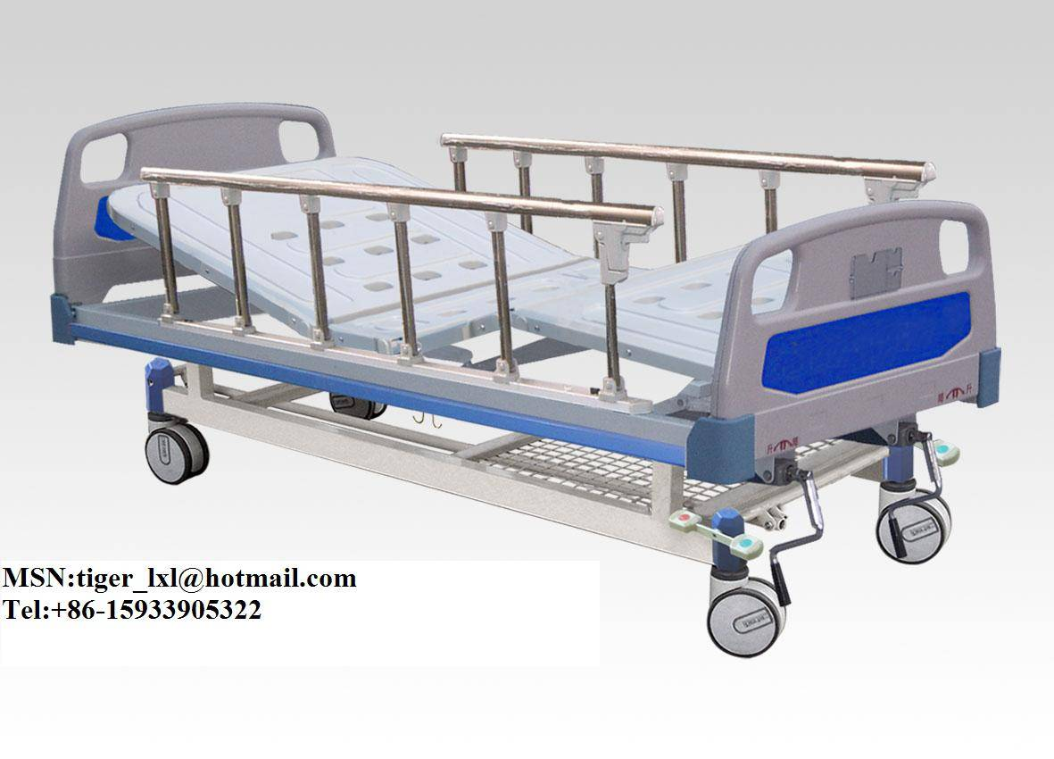 Movable Double Shakes Hospital Bed A-41