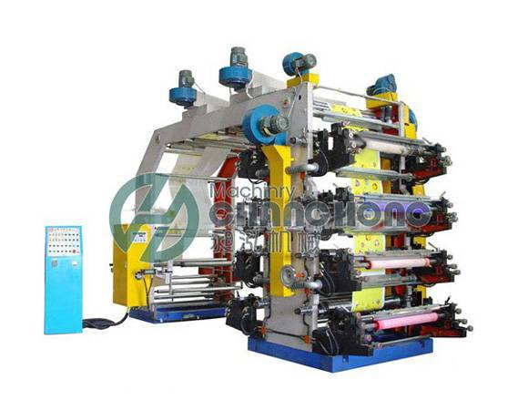 High Speed 8 Color Flexographic Film Printing Machine(CH-888)