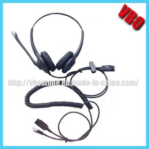 Rj Jack Telephone Headset Communication Call Center Headset