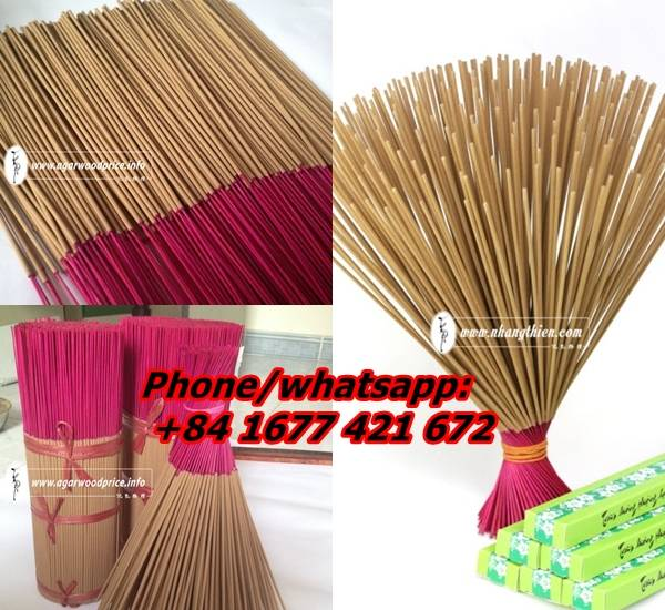 Vietnam beautiful scent from Agarwood incense stick (oud incense stick)