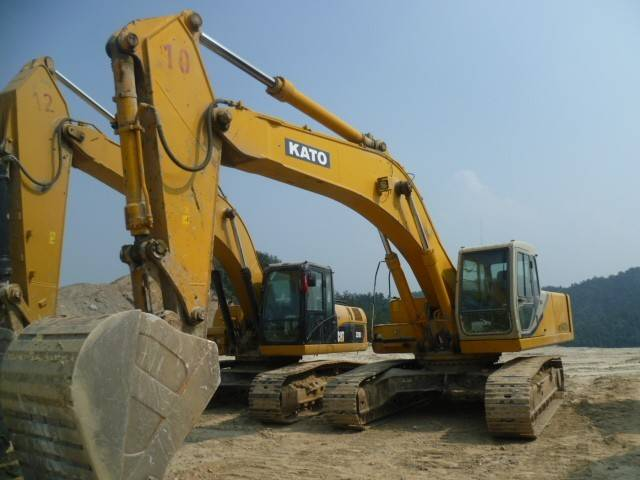 secondhand HD1430 kato excavator