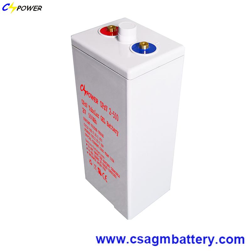 2V 500Ah Tubular gel battery OpzV battery solar energy battery