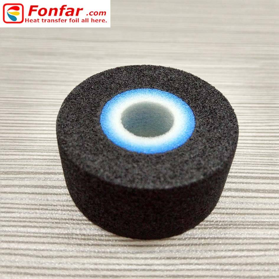 Black Hot Ink Roller for Date Printer 36mm16mm11mm(ODWID)
