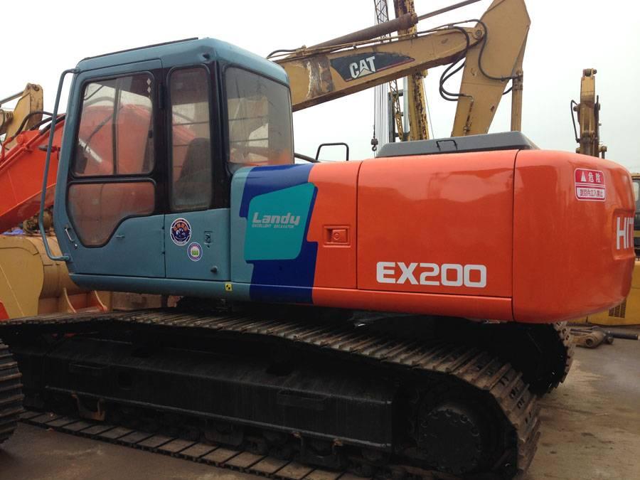 hitachi excavator used ex200-3