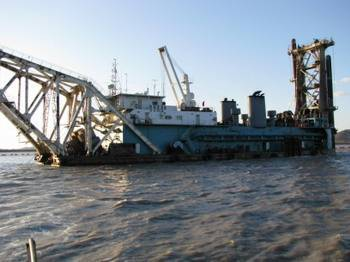 sell 1500 m3/h cutter suction dredger