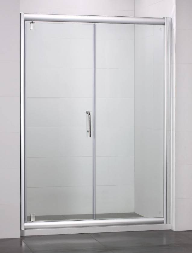 Qualified Shower Screen with Pivot Door
