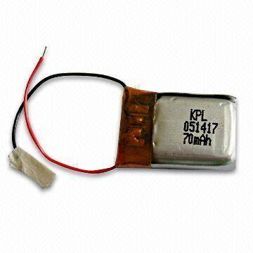Lithium Polymer Battery with 1050mAh