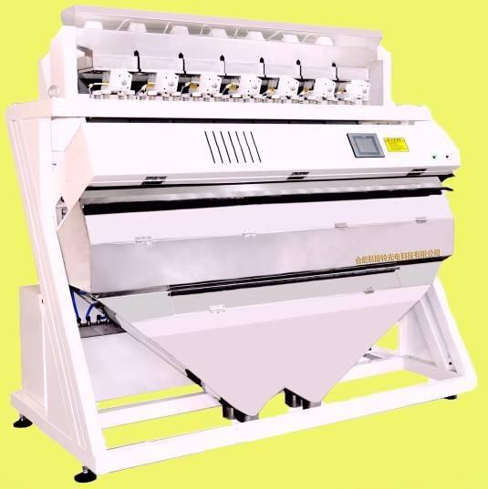 rice color sorter, rice sorting machine, rice processing machine