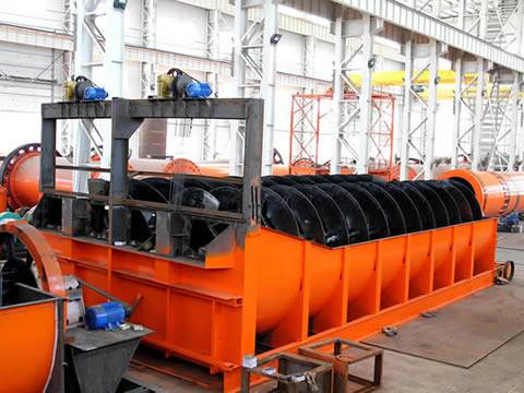 FG15 limestone Spiral classifier for sale with best price