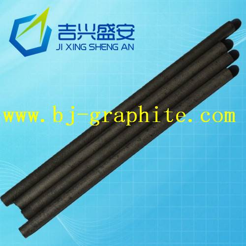 Spectrum of pure graphite rods