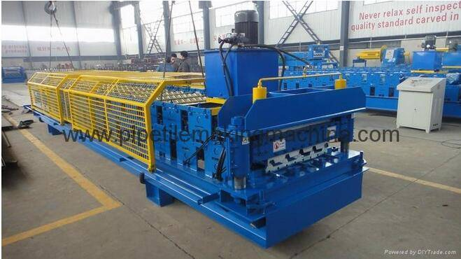 good quality tile roll forming machine