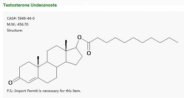 Testosterone Undecanoate/5949-44-0