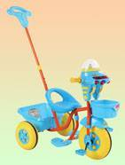 children tricycles with spaceship head with lights