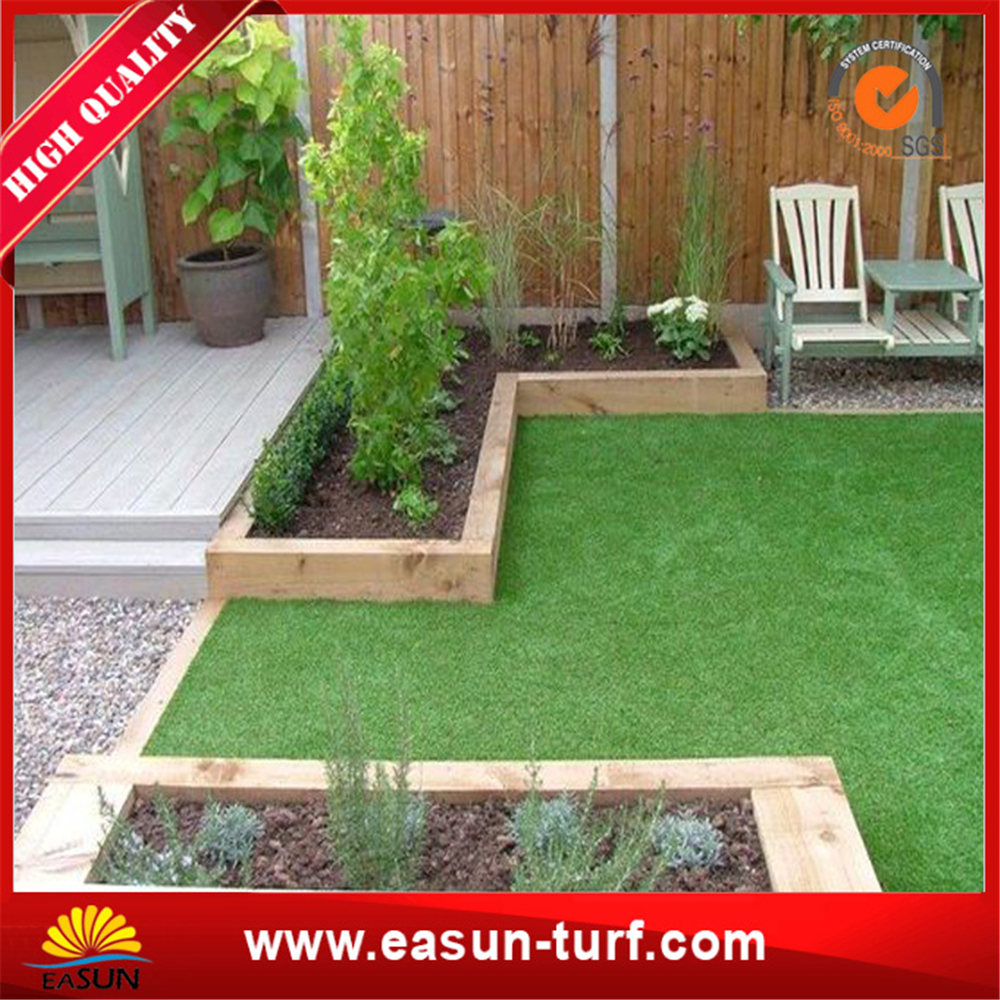 Biggest manufacuturer garden decoration landscape artificial turf grass and landscape synthetic gras