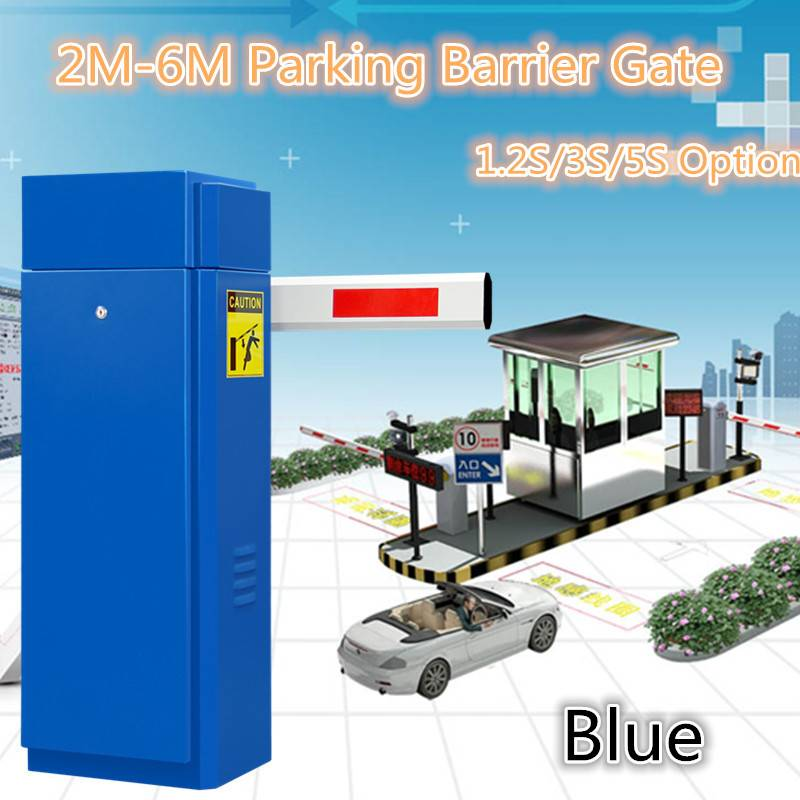 60M Remote Control Parking Access Control Barrier Gate