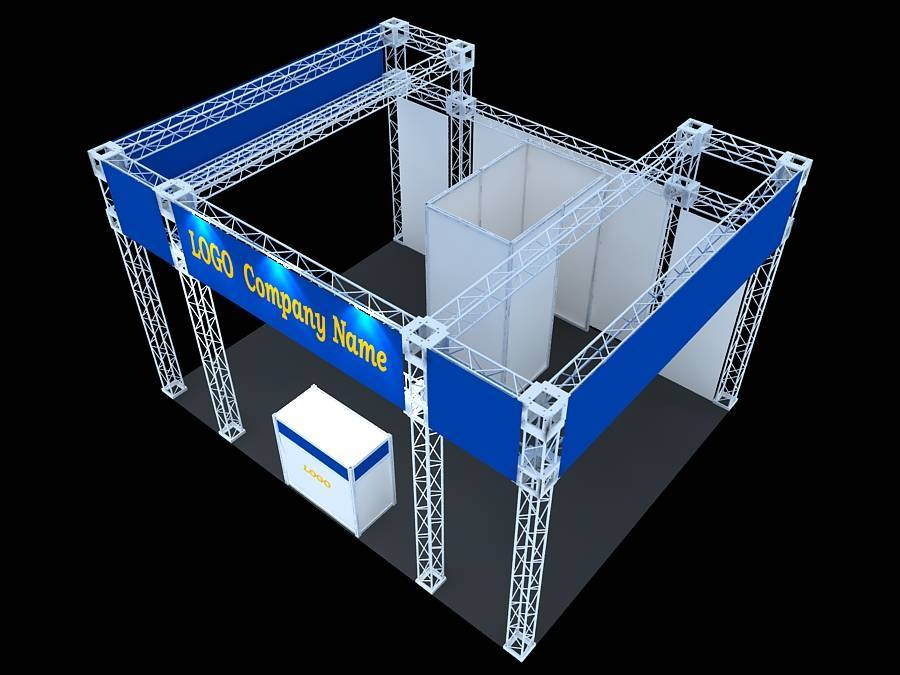 Exhibition Stand Suppliers : Truss exhibition stand aluminium manufacturer supplier