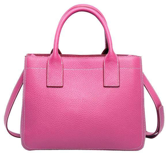 Hot selling elegant genuine leather handbags
