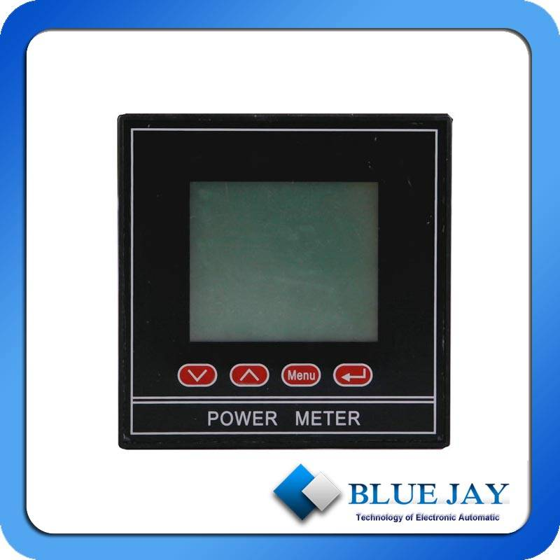 3-phase ac voltage/current combined panel meter