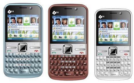 Cheap QWERTY E5 TV Phone with Optical Mouse