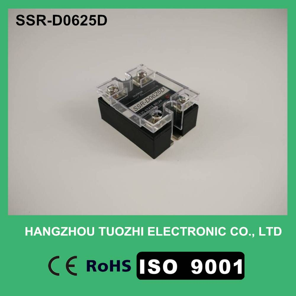 25a dc solid state relay 3-32vdc input SSR-D0625D