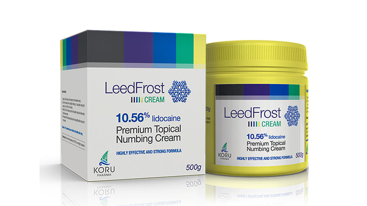 2017 High Quality Product LEED Frost Cream 10.56% 500g